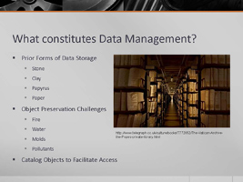 Data Management Slide